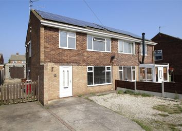 Thumbnail 3 bed semi-detached house for sale in Knightsbridge Road, Messingham, Scunthorpe, Lincolnshire