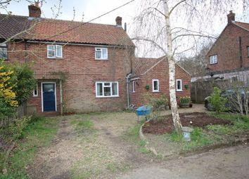 Thumbnail 3 bed semi-detached house for sale in Attleborough Road, Caston, Attleborough