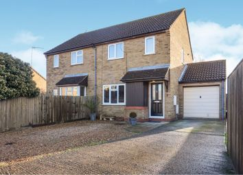 Thumbnail 3 bed semi-detached house for sale in Sandringham Drive, Huntingdon