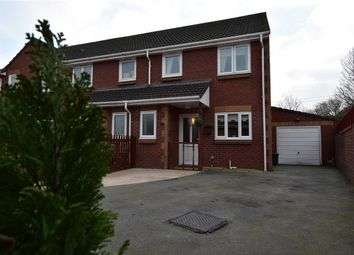Thumbnail 3 bed semi-detached house for sale in The Retreat, Caldicot
