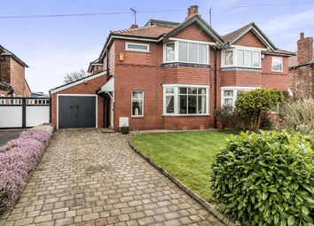 Thumbnail 3 bed semi-detached house for sale in North Park Road, Bramhall, Stockport
