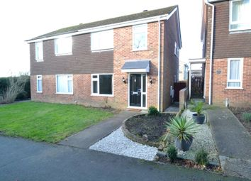 Thumbnail 3 bedroom semi-detached house for sale in Abbas Walk, Great Cornard, Sudbury