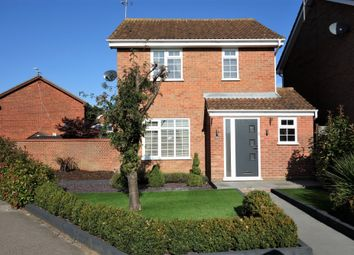 Thumbnail 3 bed detached house for sale in Ashburnham Way, Carlton Colville, Lowestoft, Suffolk