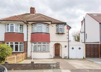 Thumbnail 3 bed semi-detached house for sale in Rowantree Road, Winchmore Hill