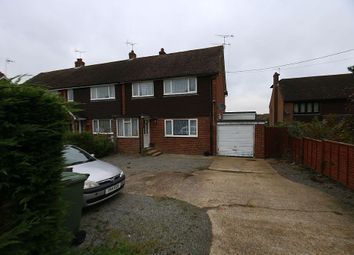 Thumbnail 3 bed semi-detached house for sale in Main Street, Beckley, Rye, East Sussex