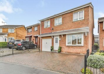 Thumbnail 4 bed detached house for sale in Delamere Close, Sheffield