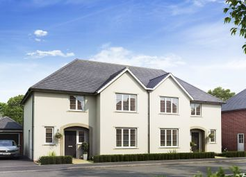 "Thumbnail 4 bed semi-detached house for sale in ""Mellor"" at Mitton Road, Whalley, Clitheroe"