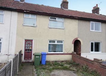 Thumbnail 3 bed terraced house for sale in Milner Road, Bridlington, North Humberside