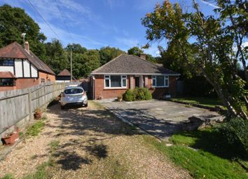 Thumbnail 3 bed detached bungalow for sale in Backing Woods In Telegraph Lane, Four Marks, Alton, Hampshire