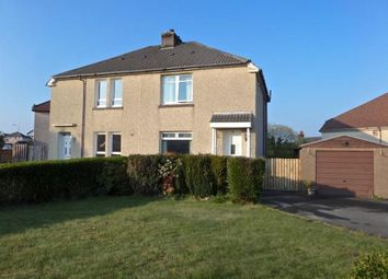 Thumbnail 2 bed semi-detached house for sale in Firhill Avenue, Airdrie