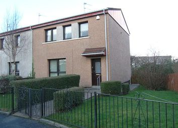Thumbnail 3 bedroom end terrace house for sale in Dunure Drive, Spittal, Glasgow