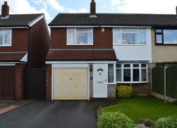 Thumbnail 3 bed semi-detached house for sale in Thornes Croft, Walsall, West Midlands
