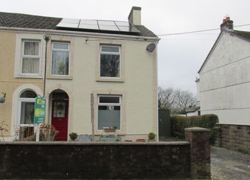 Thumbnail 2 bed semi-detached house for sale in Pentre Road, Pontarddulais, Swansea