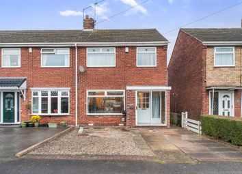 Thumbnail 3 bedroom end terrace house for sale in Daville Close, Hull