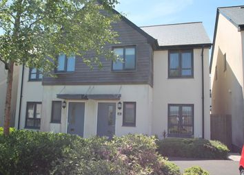 Thumbnail 3 bed semi-detached house for sale in Cobham Close, Crownhill, Plymouth