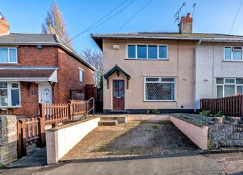 Thumbnail 3 bedroom semi-detached house for sale in Newbolt Street, Walsall