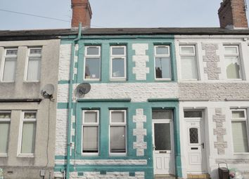 Thumbnail 2 bedroom terraced house for sale in Railway Street, Splott, Cardiff
