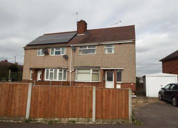 Thumbnail 3 bed semi-detached house for sale in Sorrell Road, Nuneaton, Warwickshire