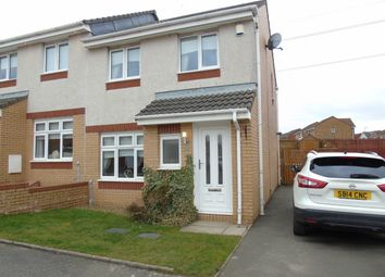 Thumbnail 3 bed semi-detached house for sale in St Abbs Way, Chapelhall, Airdrie, North Lanarkshire