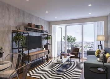 Thumbnail 2 bed flat for sale in Hornsey Park Place, London