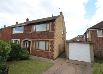 Thumbnail 3 bed semi-detached house to rent in Nottingham Close, Doncaster