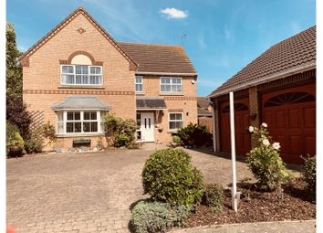 Thumbnail 4 bed detached house for sale in Wimberley Close, Spalding