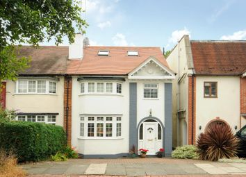 Thumbnail 4 bed semi-detached house for sale in Broughton Avenue, Finchley