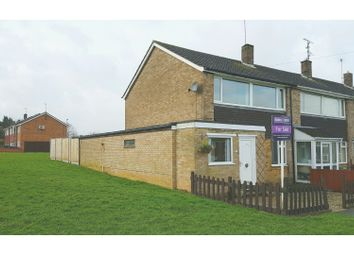 Thumbnail 3 bed end terrace house for sale in Newton Road, Duston