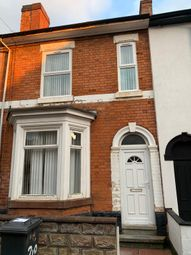 Thumbnail 2 bed terraced house to rent in Western Road, Derby