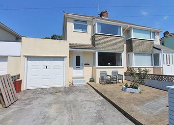 Thumbnail 3 bed semi-detached house for sale in Broomfield Drive, Hooe, Plymouth, Devon
