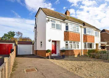Thumbnail 4 bed semi-detached house for sale in Copsewood Way, Bearsted, Maidstone, Kent