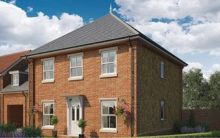 Thumbnail 4 bed semi-detached house for sale in Butterfield Meadow, Hunstanston, Norfolk