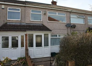 Thumbnail 2 bedroom terraced house for sale in St. Aubins Avenue, Brislington, Bristol