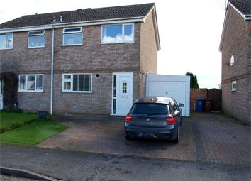 Thumbnail 3 bed semi-detached house for sale in Harwood Avenue, Branston, Burton-On-Trent, Staffordshire