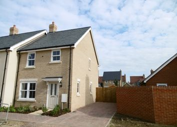 Thumbnail 3 bedroom end terrace house to rent in Chamberlain Park, Biggleswade