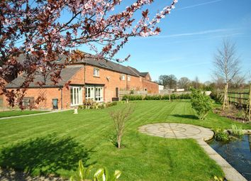 Thumbnail 4 bed barn conversion for sale in Grange Road, Bronington, Whitchurch