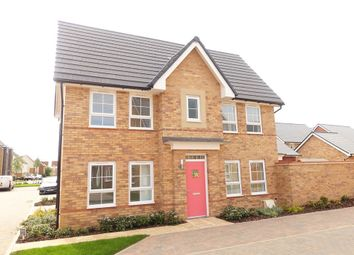 Thumbnail 3 bed detached house to rent in Bridgewater Close, Brooklands, Milton Keynes