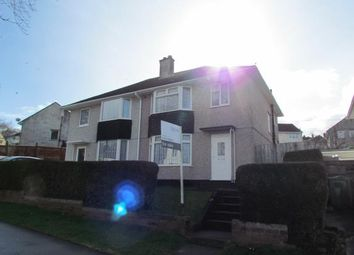 Thumbnail 3 bed semi-detached house for sale in Ernesettle, Plymouth, Devon