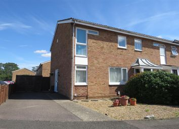 Thumbnail 3 bed semi-detached house for sale in Brunswick Close, Biggleswade