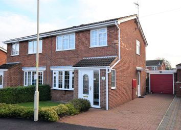 Thumbnail 3 bed semi-detached house for sale in Finch Close, Uppingham, Oakham