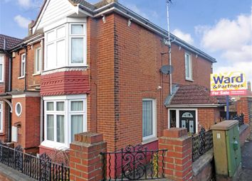 Thumbnail 4 bedroom end terrace house for sale in Kingswood Avenue, Chatham, Kent