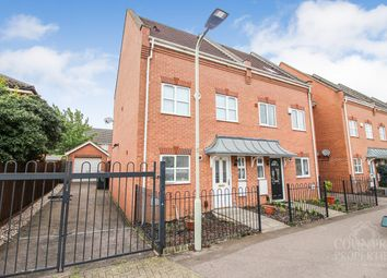 Thumbnail 4 bed town house to rent in Miller Road, Bedford