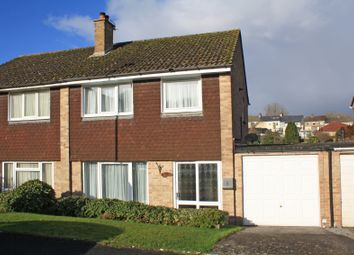 Thumbnail 3 bed semi-detached house for sale in Griffin Way, Elburton, Plymouth, Devon
