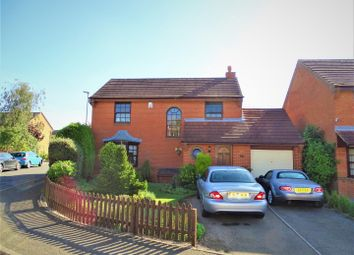 Thumbnail 4 bed detached house for sale in Kingsbridge Crescent, Leicester