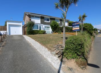 Thumbnail 3 bedroom semi-detached house for sale in Chynance Drive, Newquay