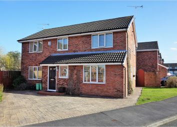 Thumbnail 4 bed detached house for sale in Aled Way, Chester