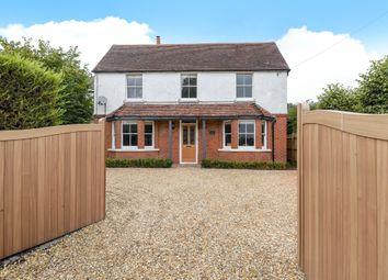 Thumbnail 4 bed detached house for sale in Harts Lane, Burghclere