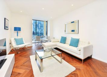 Thumbnail 1 bed flat to rent in Ambassador Building, Embassy Gardens, Nine Elms