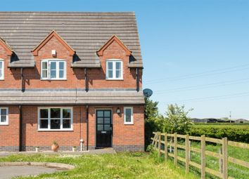 Thumbnail 3 bed semi-detached house for sale in Preston Close, Kirkby Mallory, Leicester