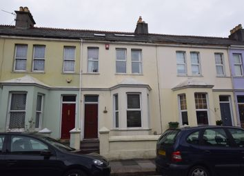 Thumbnail 3 bed terraced house for sale in Gifford Place, Mutley, Plymouth